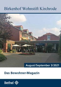Bewohner Magazin August/September 2021