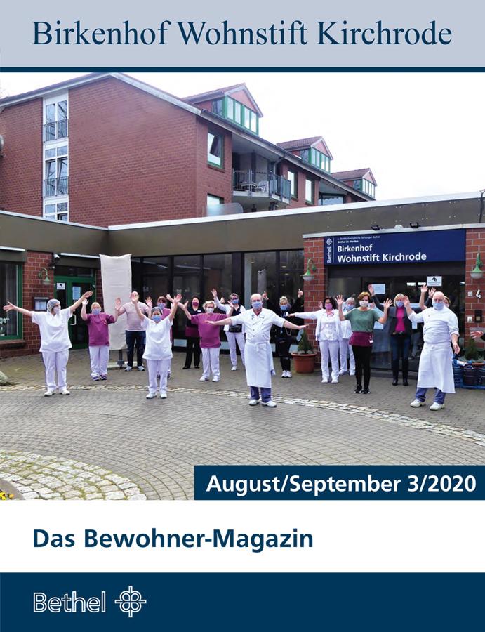 Bewohner Magazin August/September 2020