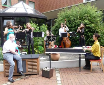 Konzert im Innenhof